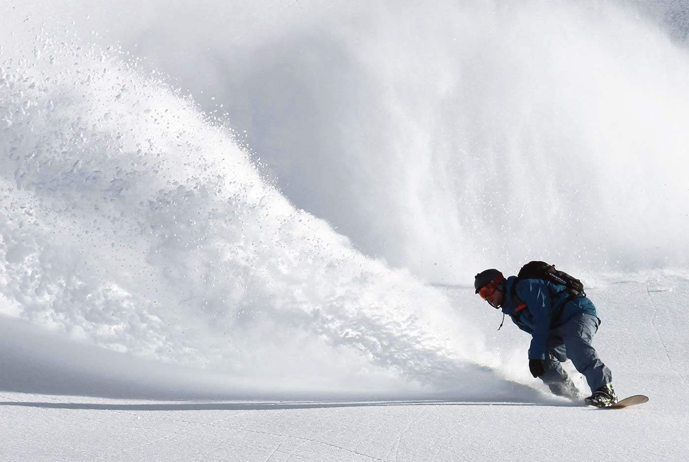 Carving Through the Powder